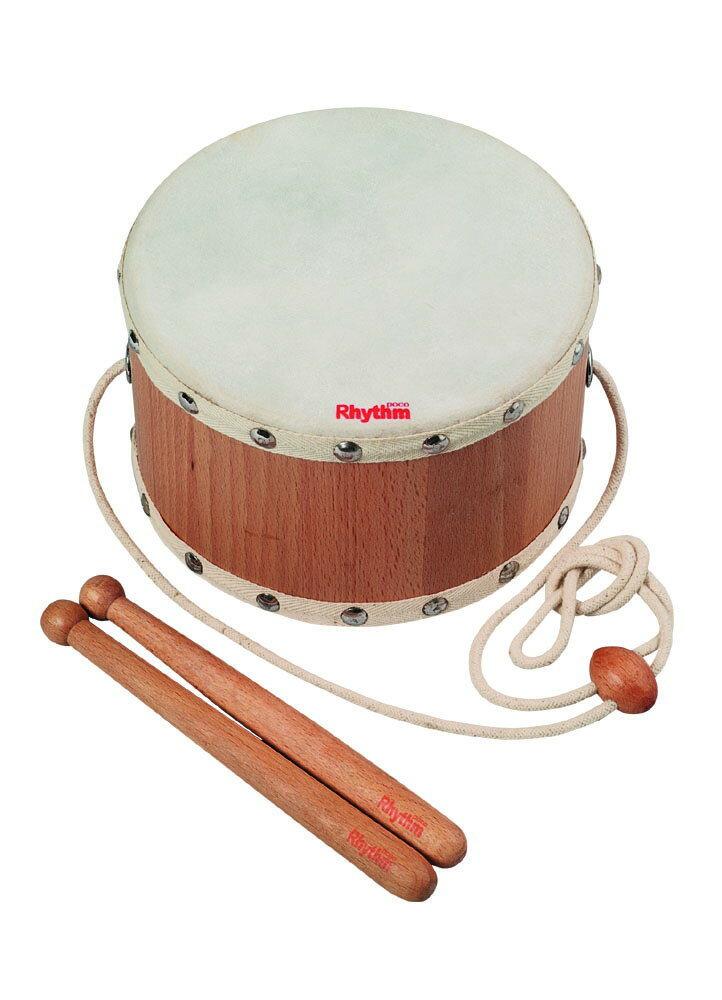知育楽器 【 ベビードラム RP-390/BD 】 リズム・ポコ Rhythm poco ドラム 打楽器
