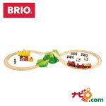 ブリオBRIO木のおもちゃバッテリーパワー機関車ファームレールセット(特別セット)33043木製/知育玩具/レールトイ