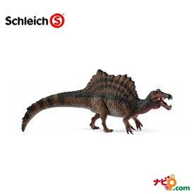 恐竜フィギュア Schleich シュライヒ スピノサウルス(ブラウン) 15009