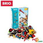 ブリオBRIO木のおもちゃビルダーアクティビティセット34588
