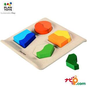 プラントイ PLANTOYS シェープマッチング2 5647 木のおもちゃ 知育玩具 タイル かたち合わせ パズル ブロック プレゼント ギフト 木製玩具 木製