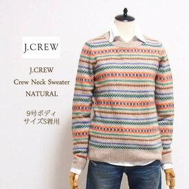 【SALE】【J.CREW】ジェイクルー クルーネック セーター/NATURAL【あす楽対応】