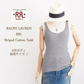 【RRL by Ralph Lauren】ラルフローレン DOUBLE RL ダブルアールエル 錨ボタン タンクトップ/2色メール便可