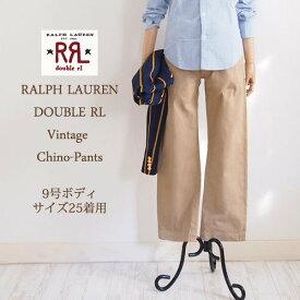【SALE】【RRL by Ralph Lauren】ラルフローレン ダブルアールエル ヴィンテージ チノパンツ/KHAKI