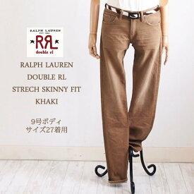 【SALE】【RRL by Ralph Lauren】ラルフローレン DOUBLE RL ダブルアールエル STRECH SKINNY FIT ストレッチ カラージーンズ/KAHKI
