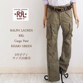 【SALE】【RRL by Ralph Lauren】ラルフローレン DOUBLE RL ダブルアールエル ミリタリー カーゴパンツ/KHAKI GREEN