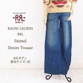 【SALE】【RRL by Ralph Lauren】ラルフローレン ダブルアールエル デニム ペイント ワークパンツ