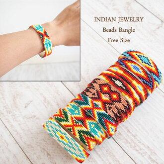 인디언 쥬얼리 비즈 팔찌(나카 후토시) INDIAN JEWELRY Beads Bangle