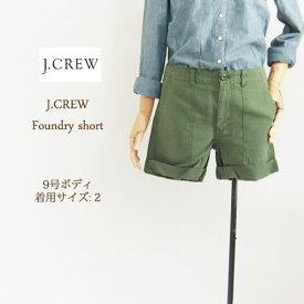 SPECIAL PRICE♪【SALE】【J.CREW】 ジェイクルー ユーティリティー ショートパンツ/K.GREEN【あす楽対応】メール便可