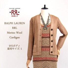 【SALE】【RRL by Ralph Lauren】 ラルフローレン DOUBLE RL ダブルアールエル メリノウールニット カーディガンセーター