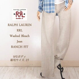 【SALE】【RRL by Ralph Lauren】 ラルフローレン DOUBLE RL ダブルアールエル RANCH FIT ウォッシュ ブリーチ ジーンズ