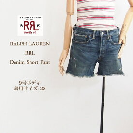 【SALE】【RRL by Ralph Lauren】 ラルフローレン DOUBLE RL ダブルアールエル デニム ショートパンツ【あす楽】