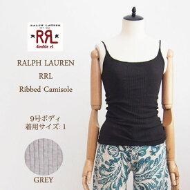 【SALE】【メール便可】【RRL by Ralph Lauren】 ラルフローレン DOUBLE RL ダブルアールエル  キャミソール /2色