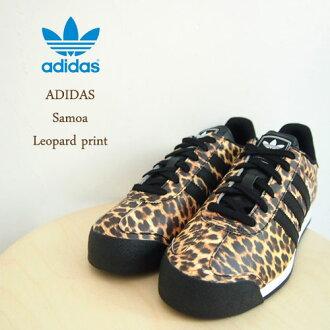 阿迪三葉草薩摩亞薩摩亞豹列印運動鞋 /LEOPARD