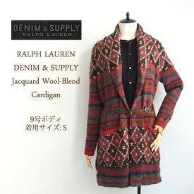 【SALE】【DENIM&SUPPLY by Ralph Lauren】ラルフローレン デニム&サプライ ネイティブ柄 ショールカラー カーディガン【あす楽対応】セーター