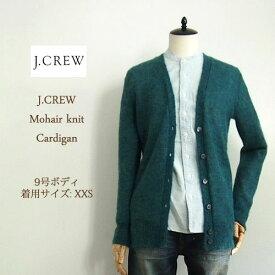 【SALE】【J.CREW】 ジェイクルー モヘア ニットカーディガン/JADE【あす楽対応】セーター