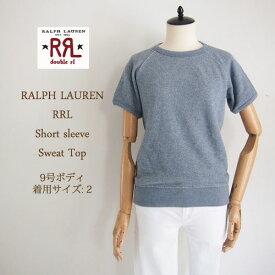 【SALE】【RRL by Ralph Lauren】ラルフローレン DOUBLE RL ダブルアールエル 半袖 スウェット Tシャツ/BLUE【あす楽対応】