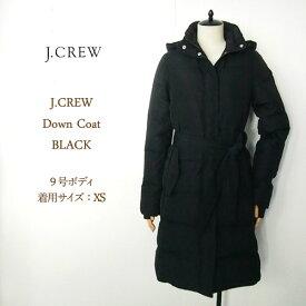 【SALE】ジェイクルー レディース ロング ダウン コート ジャケット/ブラックJ.CREW Down Coat