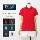 【メール便送料無料】SALE ラルフローレン レディース ポニーワンポイント刺繍 クラシックフィット ポロシャツRalph Lauren Classic Fit Polo Shirtメール便可