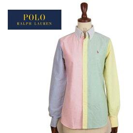 ラルフローレン レディース カスタムフィット カスタマイズ オックスフォード ボタンダウン シャツ/マルチRalph Lauren Oxford Shirts Custom Fit