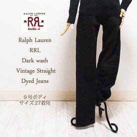 【SALE】【RRL by Ralph Lauren】ラルフローレン DOUBLE RL ダブルアールエル ウォッシュ ヴィンテージ ストレート ダイ ジーンズ