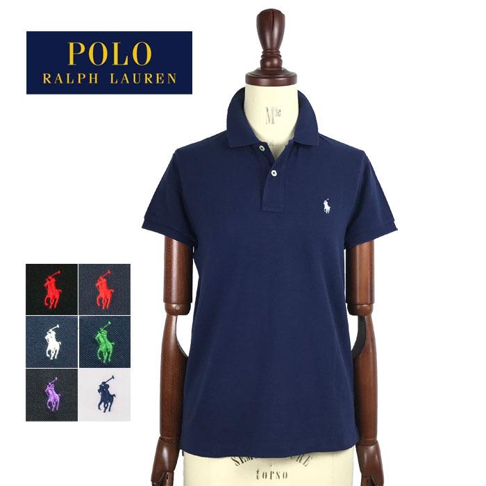 ラルフローレン レディース ポニーワンポイント刺繍 クラシックフィット ポロシャツRalph Lauren Classic Fit Polo Shirtメール便可
