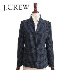 【SALE】【J.CREW】ジェイクルー ハウンドトゥース ウール ジャケット【あす楽対応】