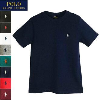 出售拉爾夫勞倫馬球男孩尺寸棉固體圓領 T 襯衫馬球由拉爾夫勞倫男孩 t 恤