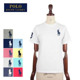 拉爾夫勞倫馬球男孩大的矮種馬編號圓領T恤POLO by Ralph Lauren