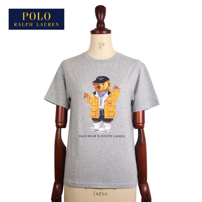 ラルフローレン ポロ ボーイズ ポロベアー ポロスポーツ クルーネック Tシャツ/グレーPOLO Ralph Lauren Boy'sメール便可
