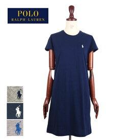 【メール便送料無料】【難あり・アウトレット】ラルフローレン レディース ポロ ポニーワンポイント クルーネック Tシャツ ワンピースOUTLET RalphLauren Long T-Shirts Dress