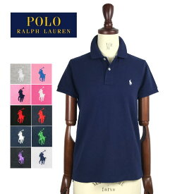 【メール便送料無料】ポロ ラルフローレン レディース ポニーワンポイント クラシックフィット ポロシャツ POLO Ralph Lauren