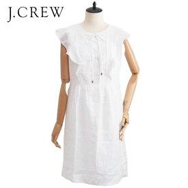 OUTLET SALE ジェイクルー リネン レースアップ ワンピース/サイズ0J.CREW Dress