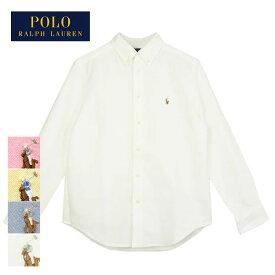 【メール便送料無料】【難あり・アウトレット】ラルフローレン キッズ ボーイズ オックスフォード ボタンダウン シャツPolo Ralph Lauren Boy's Oxford B.D Shirts