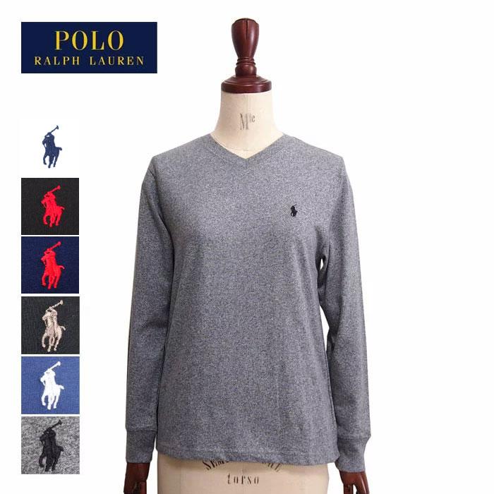 ラルフローレン ポロ ボーイズサイズ コットン ソリッド Vネック 長袖 Tシャツ ロンTPOLO Ralph Laurenメール便可