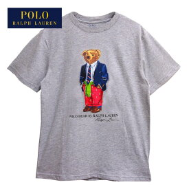 ラルフローレン ポロ ボーイズ ポロベアー プレッピースタイル クルーネック Tシャツ/ホワイトPOLO Ralph Lauren Boy'sメール便可