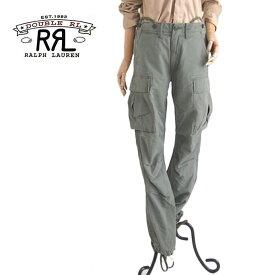 【SALE】【RRL by Ralph Lauren】ラルフローレン DOUBLE RL ダブルアールエル ミリタリーカーゴパンツ/KHAKI GREEN