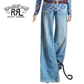 【SALE】【RRL by Ralph Lauren】ラルフローレン ダブルアールエル バックルバック デニム セラーパンツ