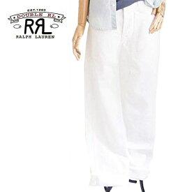 【SALE】【RRL by Ralph Lauren】ラルフローレン ダブルアールエル ユーティリティー パンツ/WHITE