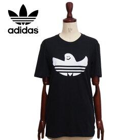 アディダス シャムー プリント Tシャツ/ブラックadidas SOLID SHMOO T-Shirt DH3900メール便可