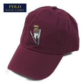 ラルフローレン ポロ ポロベアー キャップ スキー 帽子/バ−ガンディーPOLO Ralph Lauren Cap