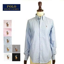 メール便送料無料 ラルフローレン レディース カスタムフィット オックスフォード ボタンダウン シャツ Ralph Lauren Oxford Shirts Custom Fit