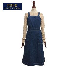 ラルフローレン ポロ レディース デニム サロペット エプロン ワンピース/ブルーPOLO Ralph Lauren Dress