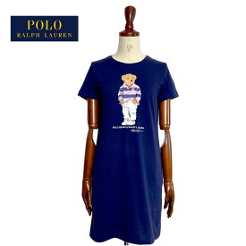 ポロ ラルフローレン キッズ ガールズ ポロベアー Tシャツ ワンピースPOLO Ralph Lauren Girls POLOBEAR Tee Dress
