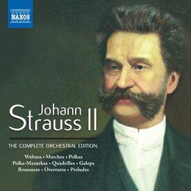 ヨハン・シュトラウス2世:管弦楽作品全集(52枚組) [Box]