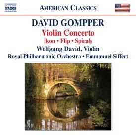 ゴンパー(1954-):ヴァイオリン協奏曲 他