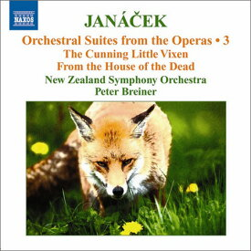 ヤナーチェク:オペラからの管弦楽組曲集3
