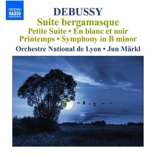ドビュッシー:管弦楽作品集 5- ベルガマスク組曲/小組曲/交響曲 ロ短調(フランス国立リヨン管/メルクル)