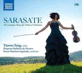 ティアンワ・ヤン:パブロ・サラサーテ:ヴァイオリンと管弦楽のための作品集[4CDs]