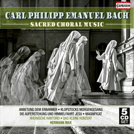 C.P.E.バッハ: 宗教的合唱曲集[5枚組]